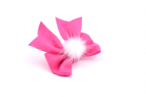 clips pink puf